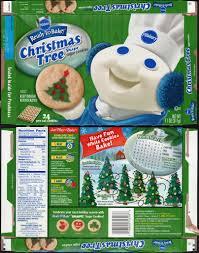 pillsbury christmas tree sugar cookies. Pillsbury ReadytoBake Christmas Tree Shape Sugar Cookies Box 2008 By In