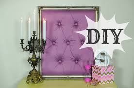 diy tufted frame diamond tufting