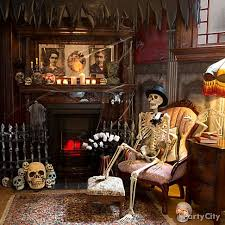 http://www.partycity.com/content/halloween haunted house decorating