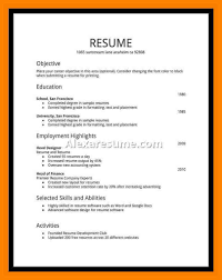 High Student Resume Examples First Job Cool Cv Example Uk No For