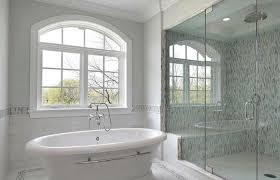 blue glass bathroom decoration medium size bathrooms design shower blue gray soho glass mosaic tiles bathroom walls old