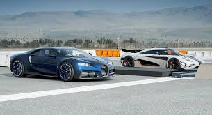 Bugatti divo vs chiron vs veyron ss. Bugatti Chiron Would Get Smashed By Koenigsegg One 1 According To Forza 7 Carscoops