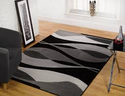 baby nursery archaicfair indoor redgreyblack hand tufted area rug luxurious carved design by addiction black