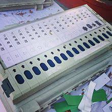 elections in voting machine demo