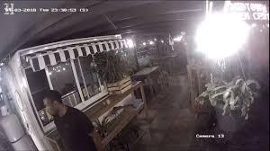 burglar on surveillance in midtown garden center miami herald
