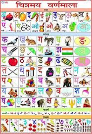 Varnmala In Hindi Chart Amazon In Buy Alphabet Hindi Chart 70 X 100 Cm Book
