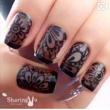 Black Lace Nehty 1 Nehty
