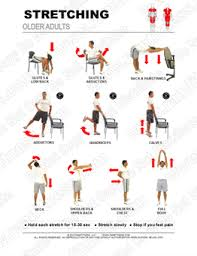 Actual Printable Stretching Exercises For Seniors Free Hand