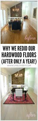 our new white washed hardwood flooring and why we had to rip out the old