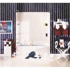 delta tempo 5 piece bathtub wall surround 48 in high textured