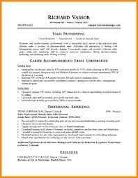 Samples Of Professional Summary For A Resume Summary Resume Career