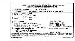 faa form 8130 7 arizona flight standards district office