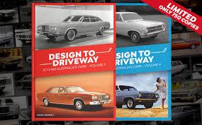 Automotive Design Australia Design To Driveway Volume 3 And Volume 4 Now On Sale