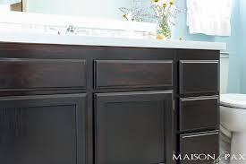 gel stained cabinet maison de pax