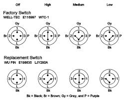 ceiling fan switch schematic