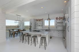white kitchen granite white countertops white floor coastal kitchen charleston