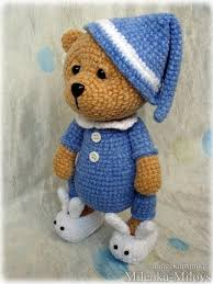 Crochet Bear Pattern Inspiration Amigurumi Pajamas BearFree Pattern Amigurumi Free Patterns Free