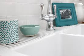 how to clean remove scratches from a white farm sink like the ikea domsjo