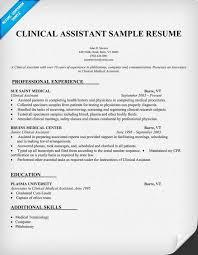 Example Of Medical Assistant Resume Tomyumtumweb Com