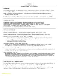 Basic Resume For College Student Free Download Resume Sample For