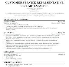 Telephone Sales Representative Resume Samples Customer Service Manager Combination Call Center Resume