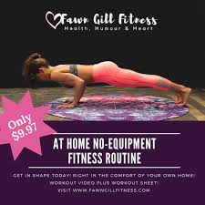 at home no equipment workout