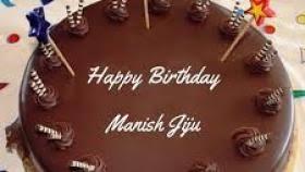 Happy Birthday Cake Images Manish Infiniti Car