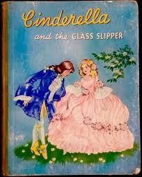 cinderella the gl slipper 1950 s children s clic fairytale story book