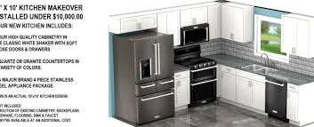 10 000 kitchen remodel cabinets countertops appliances