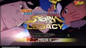 Naruto Ninja Storm Legacy PPSSPP - YouTube
