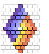 Brick Stitch Patterns Simple Free Brick Stitch Seed Bead Patterns Guide To Beadwork Blog