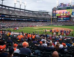 Detroit Tigers Seating Chart With Rows Comerica Park Section 119 Seat Views Seatgeek