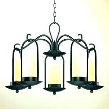candle chandelier non electric outdoor electri