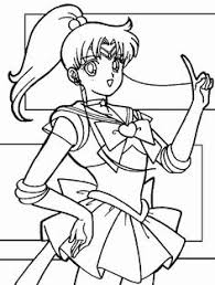 Small Picture Sailor Pluto So Pretty Sailor Moon Coloring Pages Pinterest