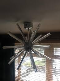 next large sputnik ceiling light fitting