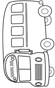 Small Picture school bus coloring page Preschool Pinterest School buses