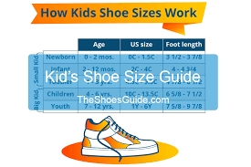 Sport Shoe Size Chart Kids Shoes Size Chart Kids Shoe Size Guide 2019