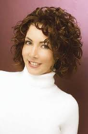 hairstyles elegant short hairstyles for curly hair for older women short curly haircut natural look
