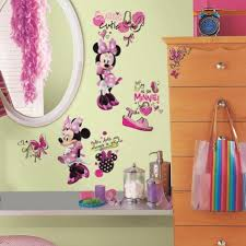 disney minnie mouse wall stickers with