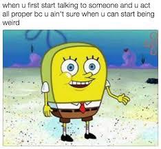professional spongebob looks weird