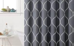 lengths and kohls short sizes depot rings liner curtain target beyond bronze sets black long bath