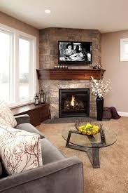 Corner fireplace by My Collections