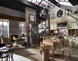 Interior Design: Rustic Bachelor Pad Ideas Featuring Fireplace And Glass  Roof - Bachelor Pad Design