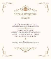 Vintage Invitation Template Custom Invitation Card With Monogram Wedding Invitation Save The Date