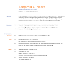 Build My Own Resume For Free Best Of Building An Academic CV In Markdown Blmio