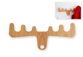 Moose Coat Rack Moose on the loose coat rack gift Woodworking Pinterest Coat 4