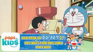 Hoạt Hình Doraemon - Muốn Ăn Phải Lăn Vào Bếp - Xem trọn bộ DORAEMON trên  ỨNG DỤNG POPS Kids