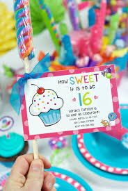 candyland sweet 16 decorations.  Sweet Printable Sweet 16 Birthday Party Invitations Intended Candyland Decorations E