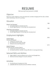 how to write a simple resume sample basic format for resume putasgae info
