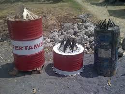 cara membuat arang sekam